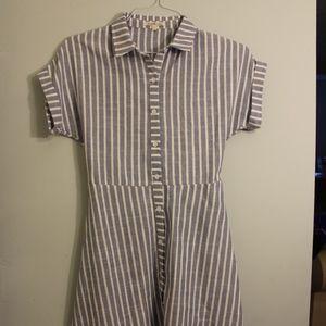 Charlotte Russe Striped Beach Dress